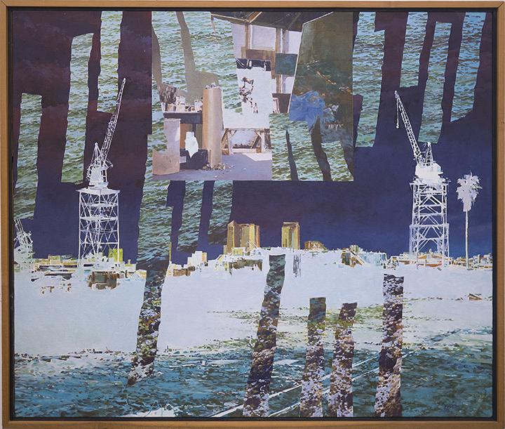 """Oil/Linen, 31"""" X 36"""" 1995"""