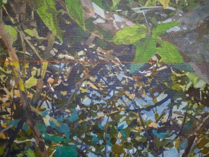 "Detail of ""River Weeds"""